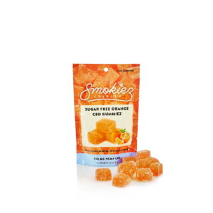 Sugar Free Orange CBD Gummiez